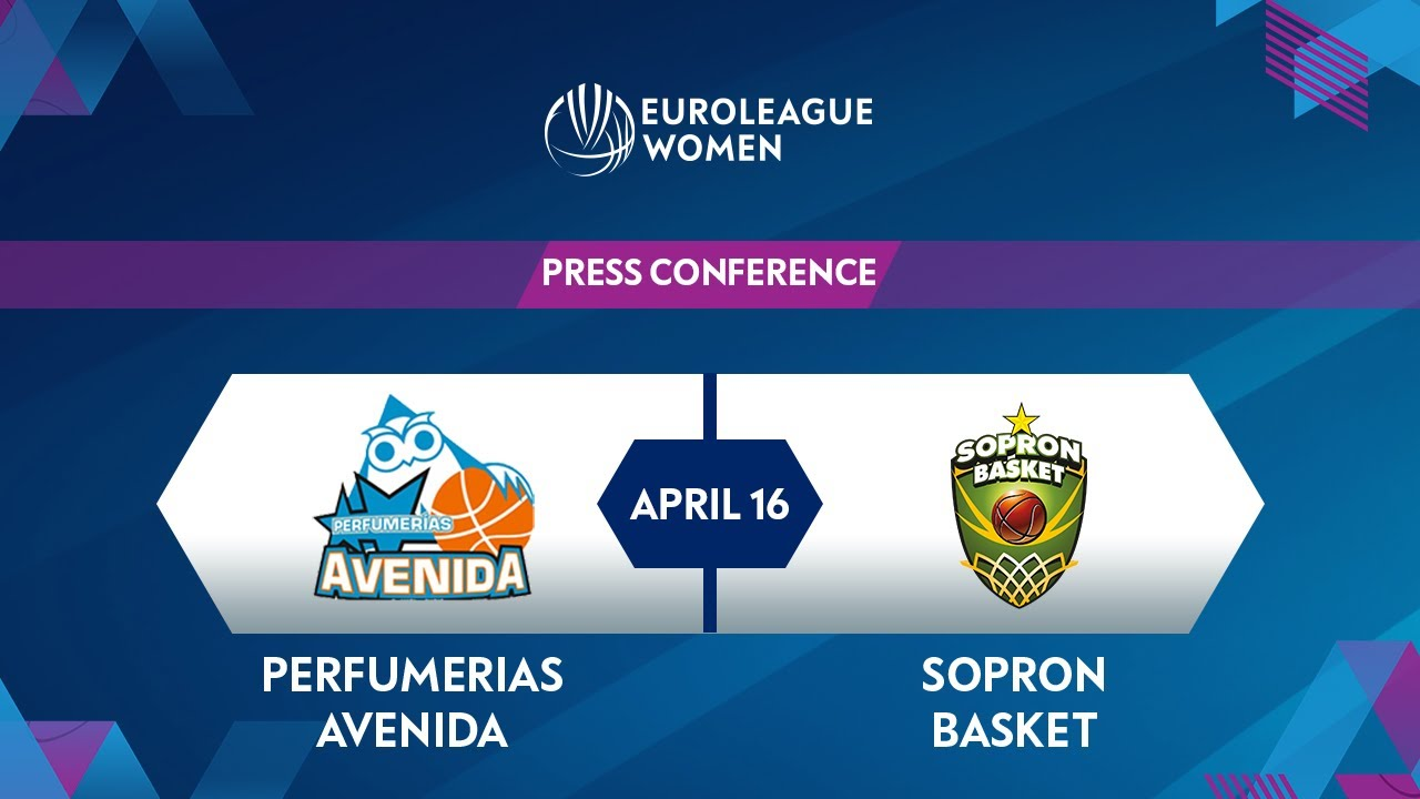 Press Conference: Perfumerias Avenida v Sopron Basket | EuroLeague Women 2020
