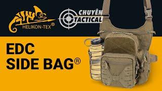 Review Túi Đeo Chéo Helikon EDC Side Bag - Chuyentactical.com