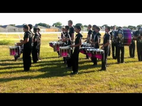 The Academy drumline 2012 @ Denton Book 1