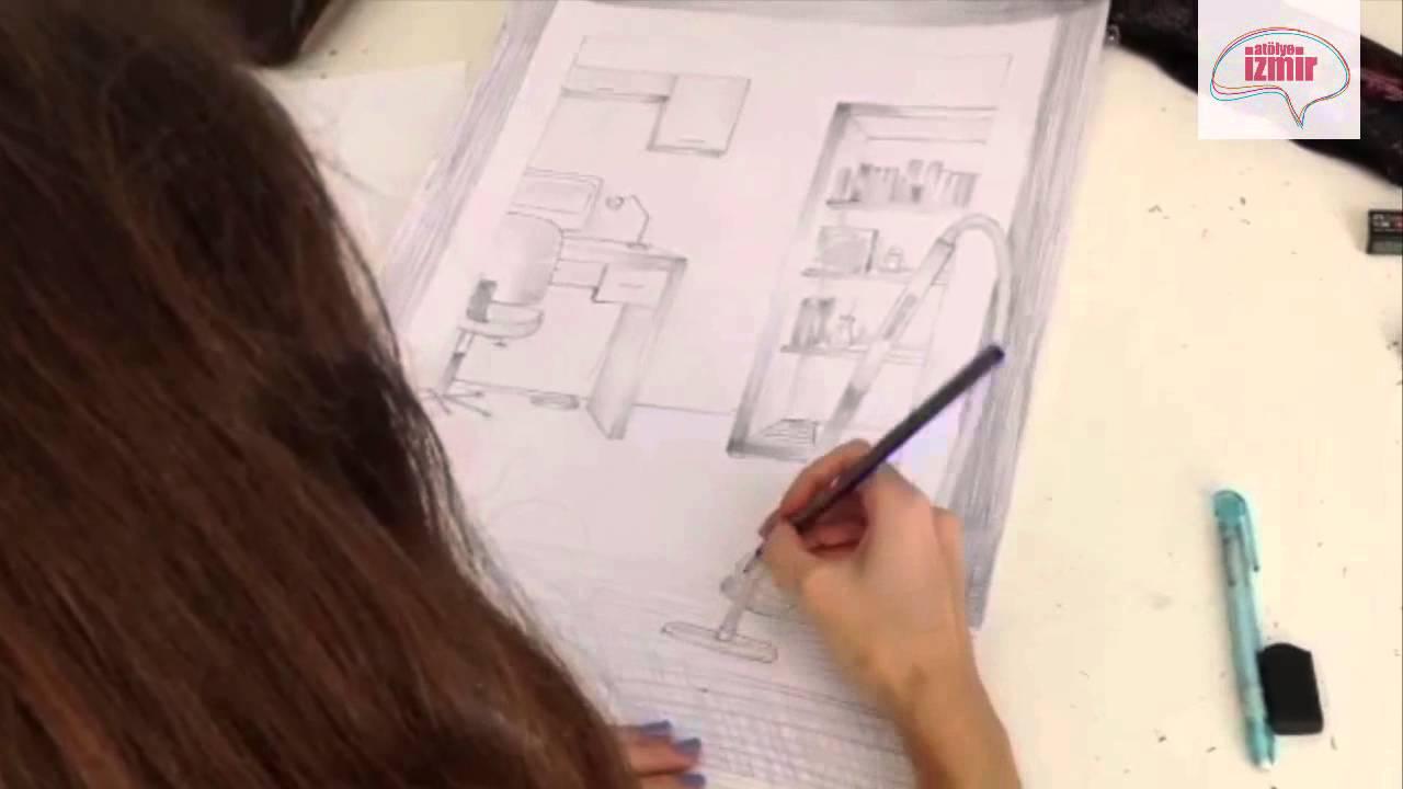 Atölye Izmir Karakalem Yetenek Sınav Imgesel Kompozisyon Youtube