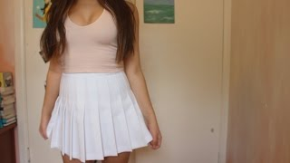 How I Style: American Apparel Tennis Skirt!