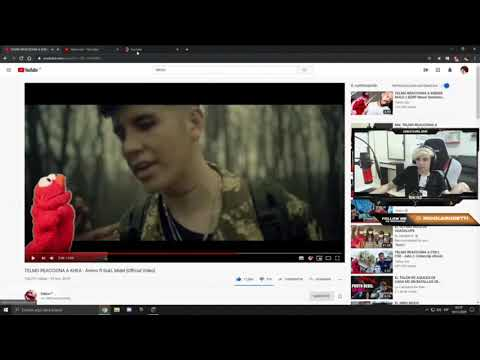OSCU REACCIONA A TELMO GO! / PARTE 2 / Reaccionando A KHEA - Ánimo Ft Duki, Midel [Official Video]