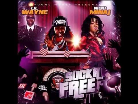 Nicki Minaj ft Lil Wayne Sucka Free Mixtape 2008