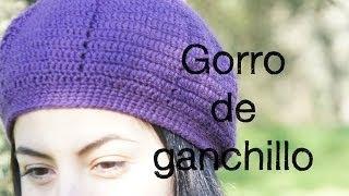 Repeat youtube video Gorro de ganchillo, paso a paso.