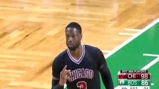 Dwyane Wade all 3-pointers of 2016-17 Season