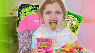 BABY vs. EXTREME CANDY (POP ROCKS & more challenges)