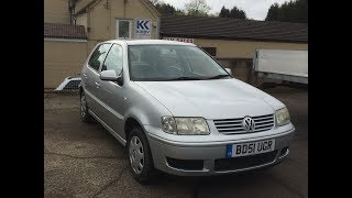 2001 volkswagen polo match car review