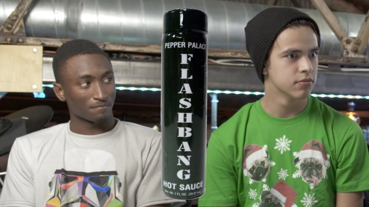 FLASHBANG PEPPER CHALLENGE - One of the hottest sauces in the world looks us right in the eyes and wrecks all of us.