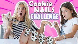 Cookie NAILS CHALLENGE