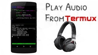 how to play mp3 songs in termux