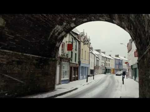 Snow Scenes at Youghal, Co. Cork Ireland - 01/03/2018 - (4K)