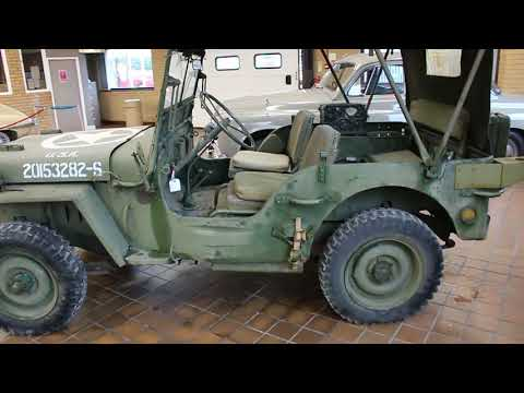1942 Willys Jeep 4x4 - Classic Car Auction - Clwyd Car Auctions Ewloe