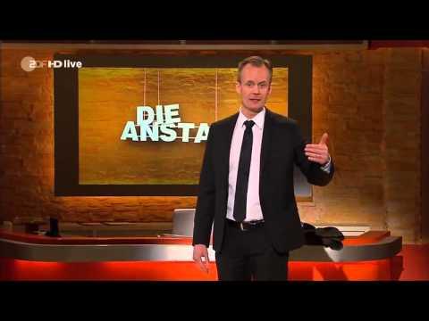 Germany's TV about Maydain (Немецкое телевидение с иронией о Майдане), 11.03.2014