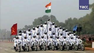 Армия Индии  красочное зрелище