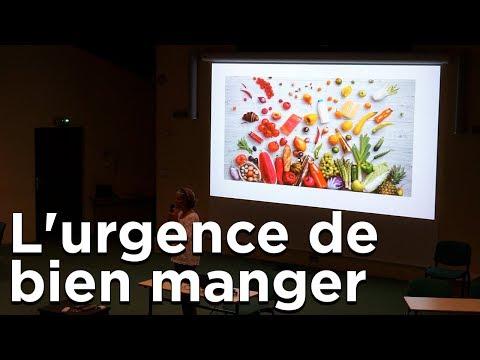 L'urgence de bien manger Hélène Altherr Nutritionniste Hygiéniste la Petite Université ENSA