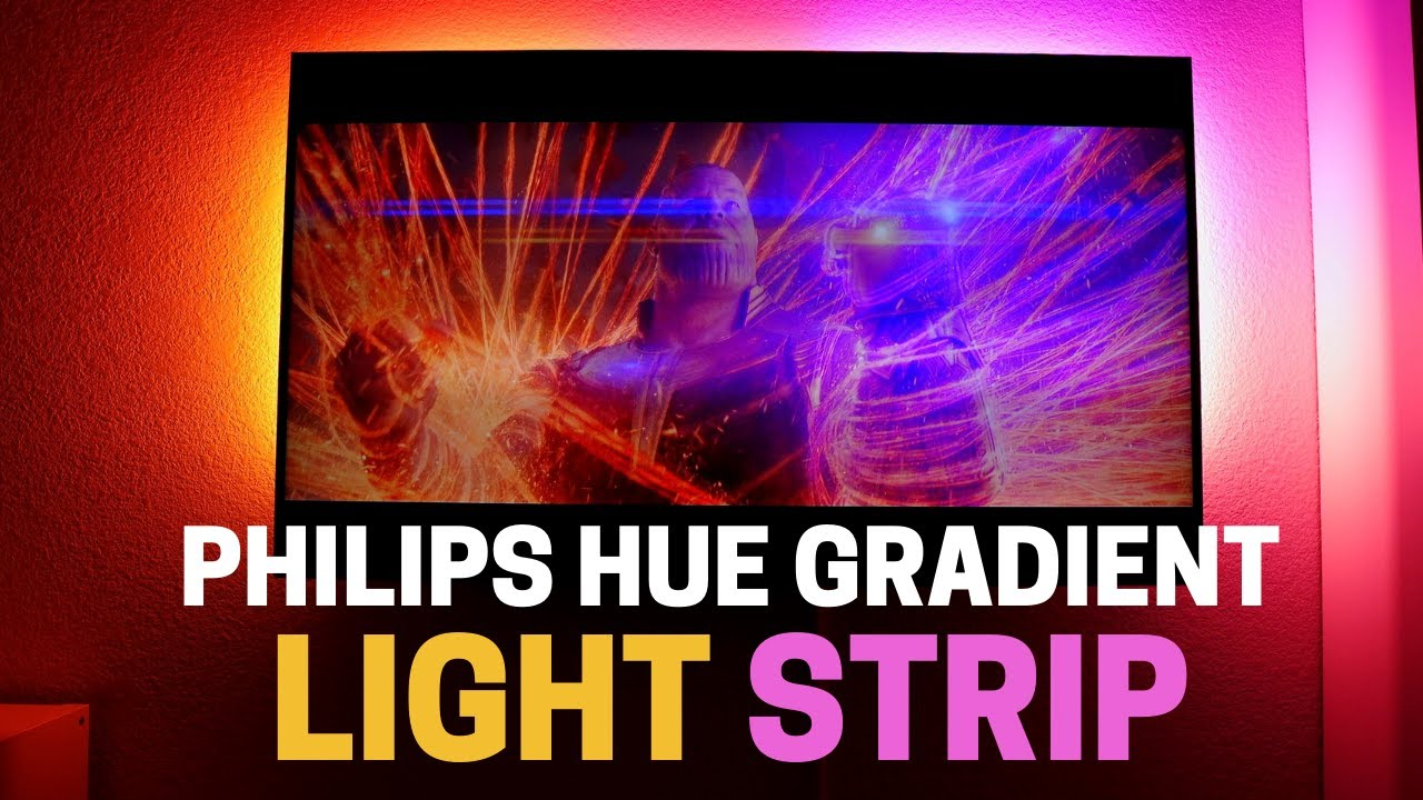 Philips Hue Gradient Light Strip: beauty isn't cheap