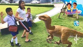 จูราสสิค เวิลด์  🦖 🦕 T-Rex ไดโนเสาร์บุกหมู่บ้าน วิ่งหนีสุดชีวิต!! ละครสั้น Jurassic world- วินริว