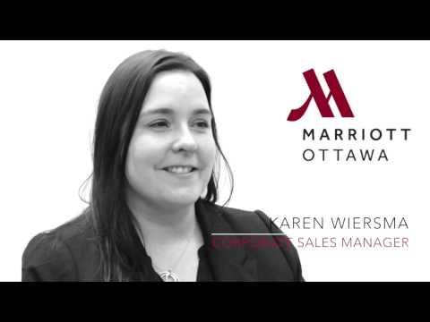Ottawa Marriott - Karen Wiersma - Corporate Sales Manager