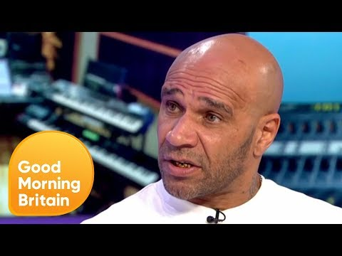 Drum and Bass Star Goldie on How Yoga Changed His Life | Good Morning Britain