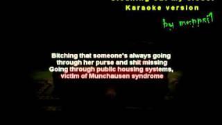 Eminem - Cleaning Out My Closet [Karaoke/Instrumental] w/Lyrics