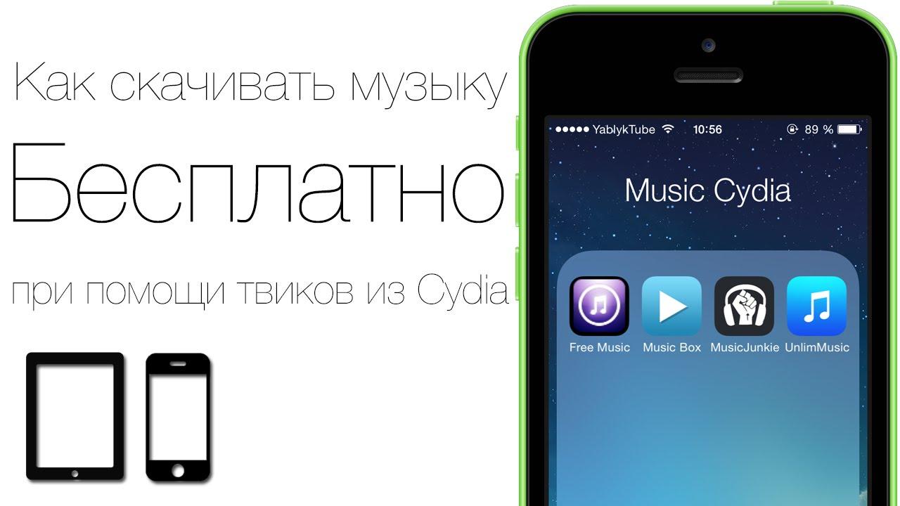 Как музыку в айфон 4 через приложение