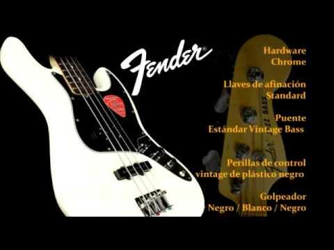 Test De Sonido: Fender American Special Jazz Bass Y Markbass Little Mark 250