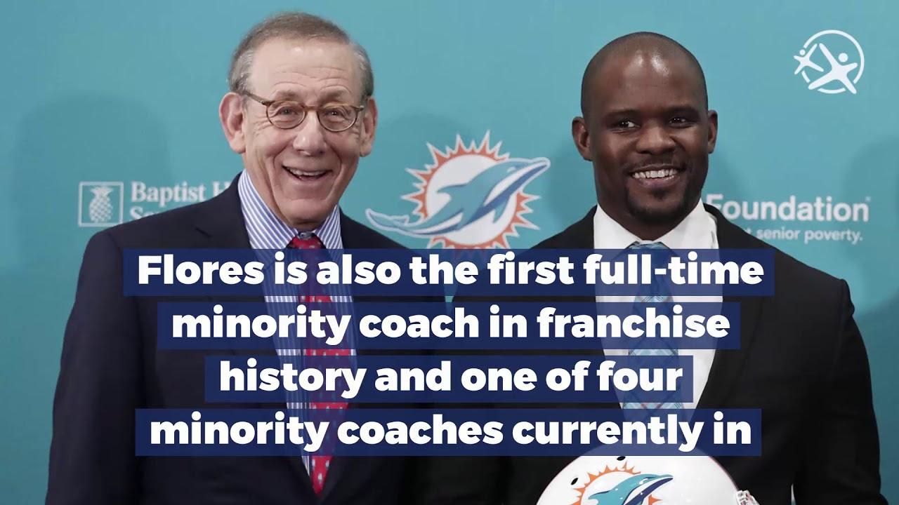 Brian Flores New Dolphins Head Coach