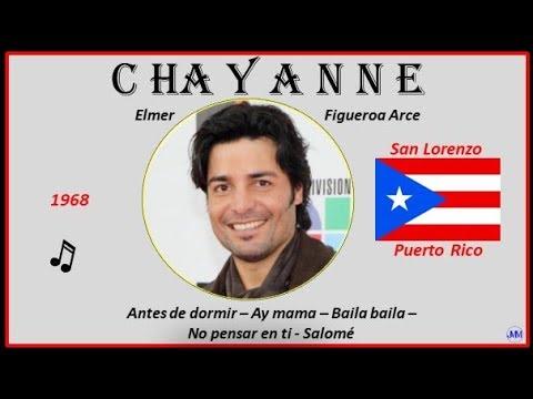 Chayanne (1968) San Lorenzo (Puerto Rico) Antes De Dormir-Ay Mama-Baila Baila-No Pensar En Ti-Salomé