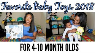 FAVORITE BABY TOYS & PRODUCTS | 4 TO 10 MONTHS | KRISTA BOWMAN RUTH