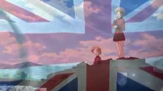 Girls Und Panzer - AMV - St. Gloriana - The British Grenadiers (Lyrics)