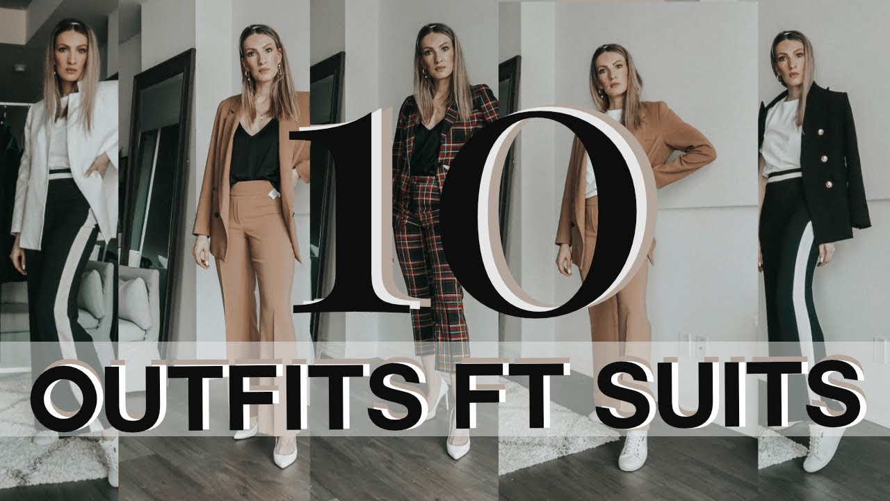[VIDEO] - FALL TRENDS 2019 | HOW TO WEAR & STYLE A SUIT FOR WOMEN | MON MODE 2