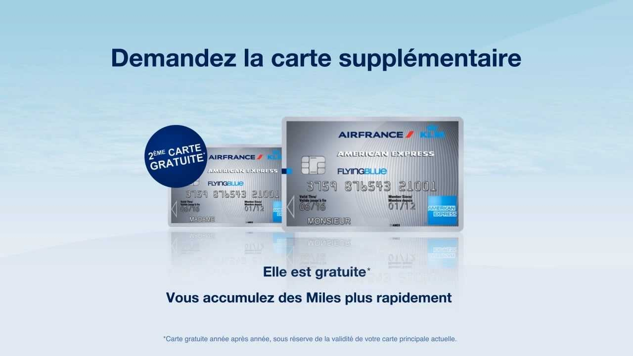 Carte American Express.Carte Supplementaire Air France Klm American Express Silver Youtube