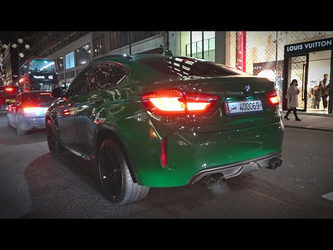 BMW X6M F86 W/ Akrapovic Exhaust - LOUD Revs & Accelerations In Central London!