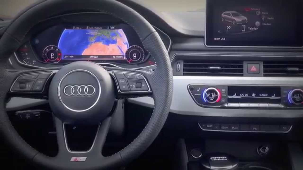 New 2016 audi a4 avant interior youtube for Lederen interieur audi a4