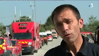Incendie dans le Gard : des habitations brûlées, 620 hectares en fumée