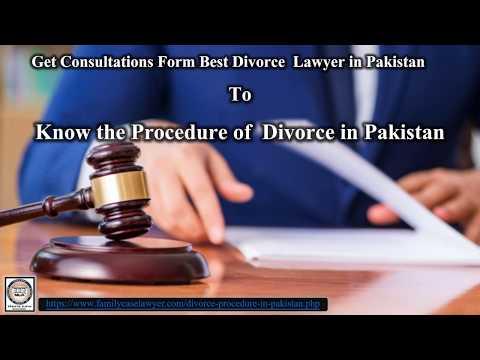 procedure of Talaq in pakistan
