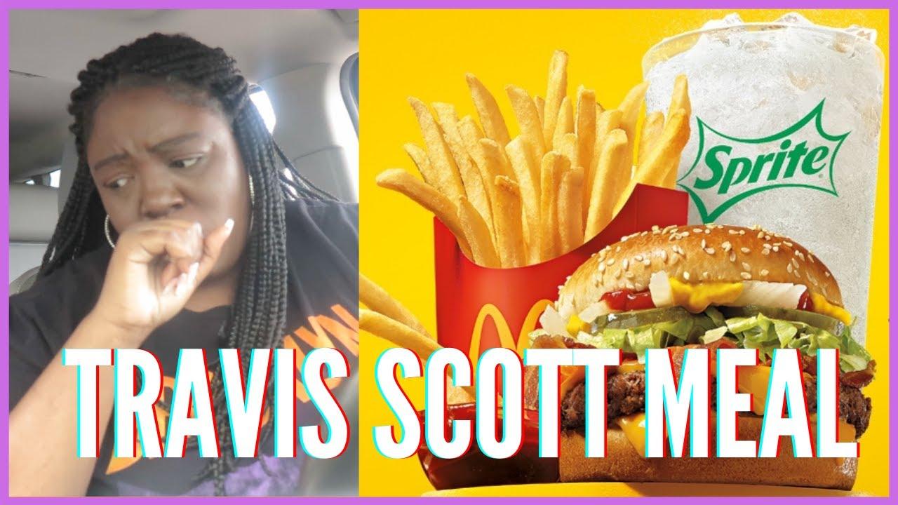 Download I TRIED THE TRAVIS SCOTT MEAL AT McDONALD'S I DIASHA
