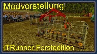 Ls 15 Modvorstellung ITRunner Forstedition Container Pack V 0.7 [Deutsch][HD]