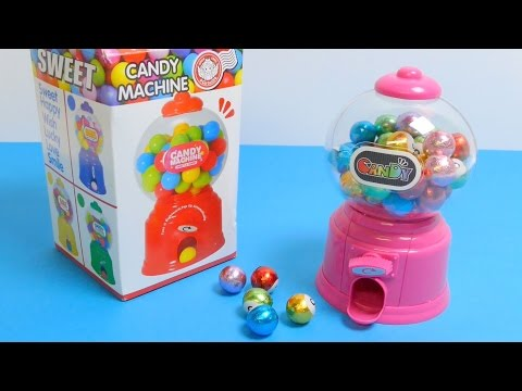 Gumball Machines & Candy Grabber Toys Video Compilation ガムボールマシーン