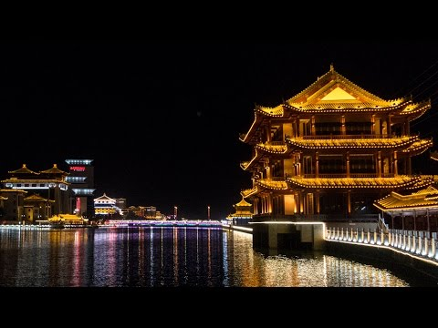 Our First Night Exploring Dunhuang China - Edwin's Eyes Travel VLOG