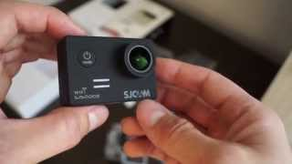 SJCAM SJ5000X Elite Первый обзор на Русском. Экшен камера SJ5000X Elite 4K Gyro