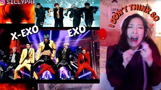 Gambar cover EXO 엑소 OBSESSION (X-EXO & EXO Ver.) LIVE STAGES REACTION