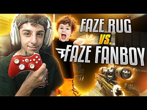 FAZE RUG VS FAZE FANBOY!!