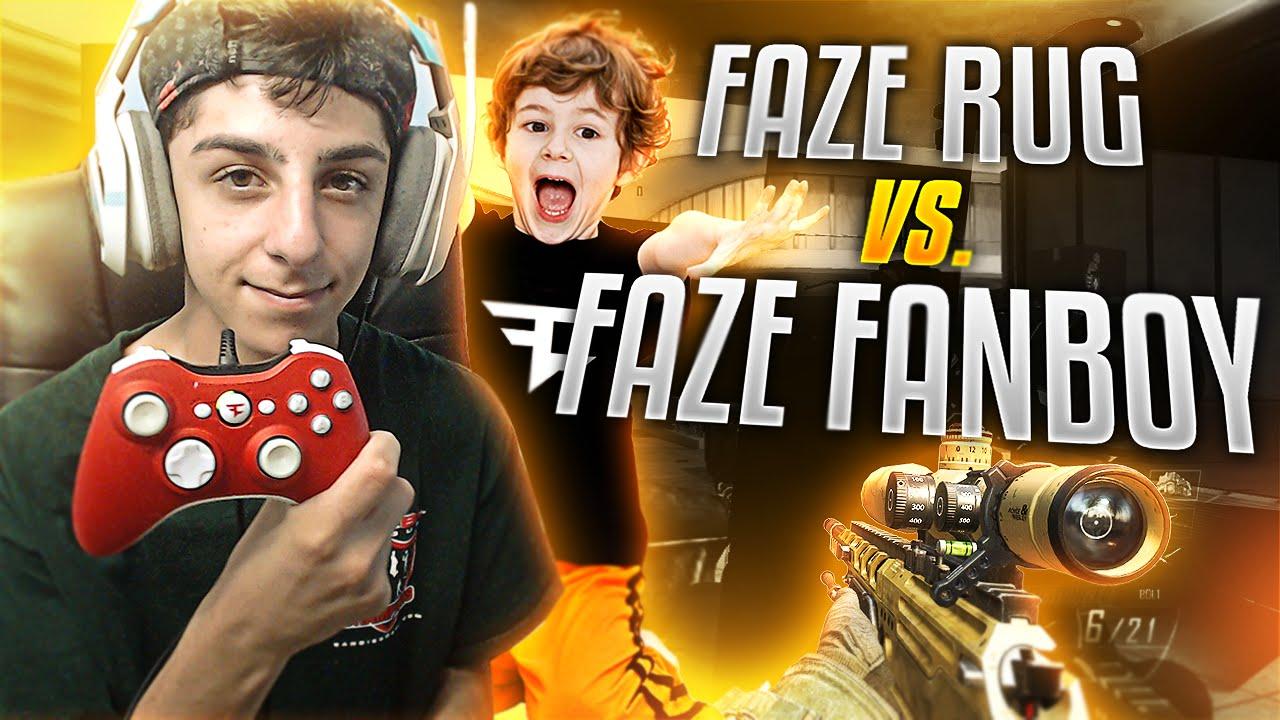FAZE RUG VS FAZE FANBOY!! - Vloggest