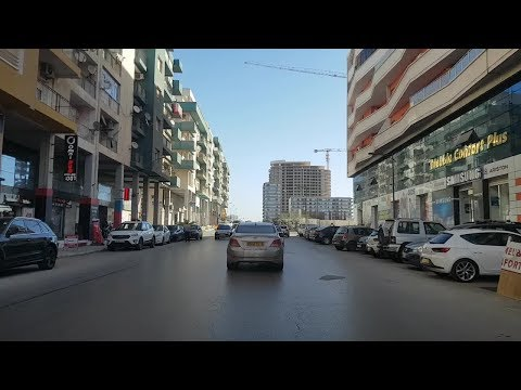 Driving in oran Algérie 21 02 2019 وهران الجزائر
