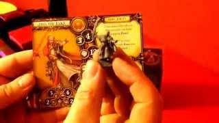 Crown of Destiny Descent journeys in the dark second edition expansion unboxing with biffta