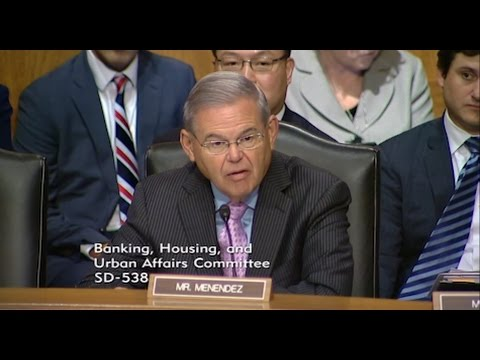 Menendez Demands Answers from Wells Fargo CEO