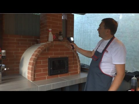 Печь REDSTON SOLO. Промеры и выпечка хлеба.