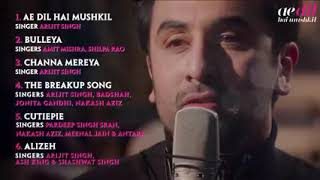Ae dil hai mushkil | Full Hd Songs |Jukebox |Ranbir Kapoor |Anushka Sharma |Ashwariya Roy Bacchan |