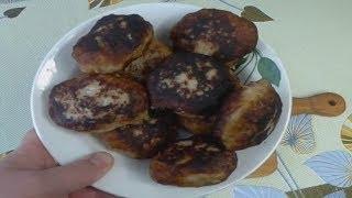 Вкусные котлеты с рыбы, с пюрешкой и сливочным с грибами соусом, мой рецепт вкусных рыбных котлет.